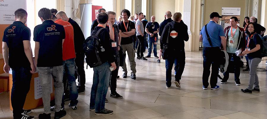 Teilnehmer des TYPO3camp Stuttgart 2017