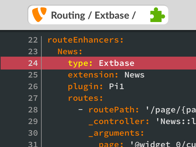 TYPO3 Routing: speaking URLs for Extbase extensions