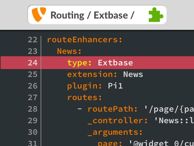 TYPO3 Routing: sprechende URLs für Extbase-Extensions