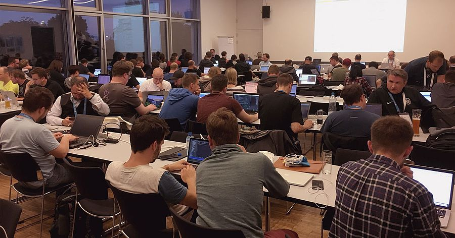 Coding Night during the TYPO3 Dev Days 2018
